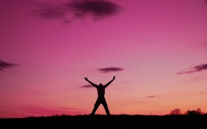 man-enjoying-freedom-pink-sky-pictures