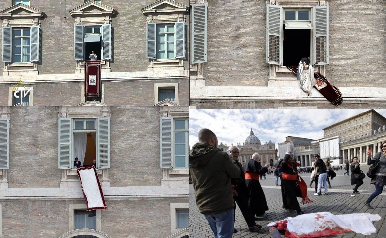 Alessandro cascio suicidio all angelus papa francesco si affaccia alla finestra e si butta di - Finestra del papa ...